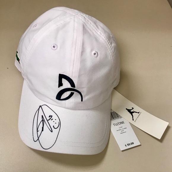 d251b1294 Wimbledon 2019 Winner- Novak Djokovic Signed Hat NWT